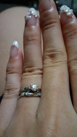 【JEWELRY  KAMATA(ジュエリーかまた)の口コミ】 フルオーダーやセミオーダーができるし、予算に合わせてダイヤモンドの品…