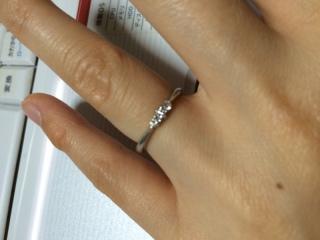 【銀座ダイヤモンドシライシの口コミ】 店員さんに自分のイメージを伝え、イメージに合うおススメのものを持ってき…