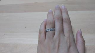 【ブシュロン(BOUCHERON)の口コミ】 毎日つける結婚指輪こそダイヤモンドがキラキラしているものがよく、この…