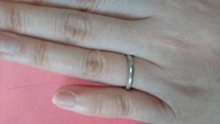 【ティファニー(Tiffany & Co.)の口コミ】 私はもともとシンプルなデザインの指輪が希望でした 。旦那さんは金銭的的…