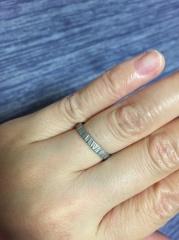 【REGALO(レガロ)の口コミ】 服のセンスも合わない夫婦なので指輪探しは困難を極めました。そんな中、出…