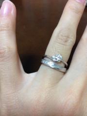 【ジュエリーツツミ(JEWELRY TSUTSUMI)の口コミ】 婚約指輪と結婚指輪のセットで18万円という金額に惹かれました。家電揃え…