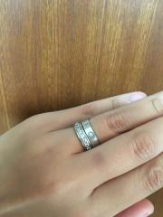 【カルティエ(Cartier)の口コミ】 普通な決め手にはなってしまいますが、主人は婚約指輪を渡す時はこちらの…
