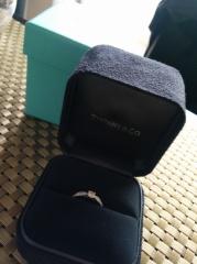 【ティファニー(Tiffany & Co.)の口コミ】 彼が買いに行ったとき、このデザインが良いなと思った物が、たまたま私の…