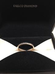 【エクセルコダイヤモンド(EXELCO DIAMOND)の口コミ】 シンプルな指輪を探していたところ、店員さんにオススメいただいたのがこち…