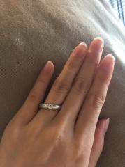 【フラー・ジャコー(FURRER-JACOT)の口コミ】 フラー・ジャコーの結婚指輪に決めた理由は、鍛造であるという点が一番の…
