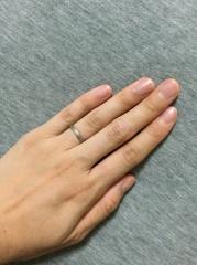 【メデルジュエリー(Mederu jewelry)の口コミ】 指輪はメデルジュエリーで購入しようと決めていました。浅草の本店で全ての…