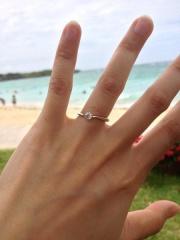 【PORTADA(ポルターダ)の口コミ】 婚約指輪とともにプロポーズをしてくれたのですが、婚約指輪は旦那さんが何…