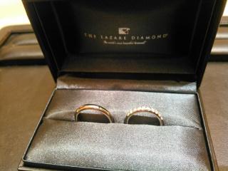 【ラザール ダイヤモンド(LAZARE DIAMOND)の口コミ】 元々ほしかったデザインのリングを、店頭で実際にはめてみると、ファッショ…