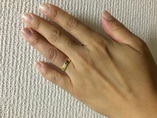 【ケイウノ ブライダル(K.UNO BRIDAL)の口コミ】 一般的なプラチナの指輪が嫌で、変わっていて、でも奇抜過ぎず飽きのこな…