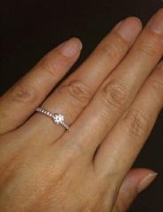 【俄(にわか)の口コミ】 細見の指輪をさがしていました。細見の指輪はいろんなブランドからもでてい…