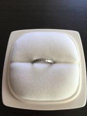 【俄(にわか)の口コミ】 婚約指輪が俄の更紗だったので、結婚指輪も俄で購入すると決めていました。…