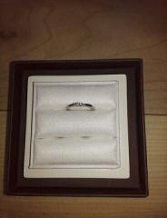 【LUCIE(ルシエ)の口コミ】 実は結婚指輪をなくし二回目の購入になります。他のブランドも探しましたが…
