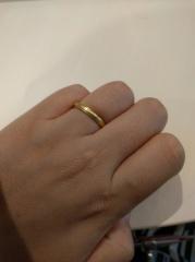 【SORA(ソラ)の口コミ】 婚約指輪をSORAで作ったこともあり、その際のお店の対応がとても良かった…