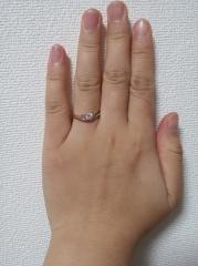 【アイプリモ(I-PRIMO)の口コミ】 初めて指輪の相談に行ったときからデザインが気に入りました。 お店の方か…