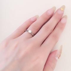 【アイプリモ(I-PRIMO)の口コミ】 婚約指輪はダイヤが一つついているデザインのものを探していて、購入した指…