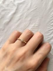【アイプリモ(I-PRIMO)の口コミ】 婚約指輪は二人に合うデザインではなく、私個人に似合うもので良かったので…