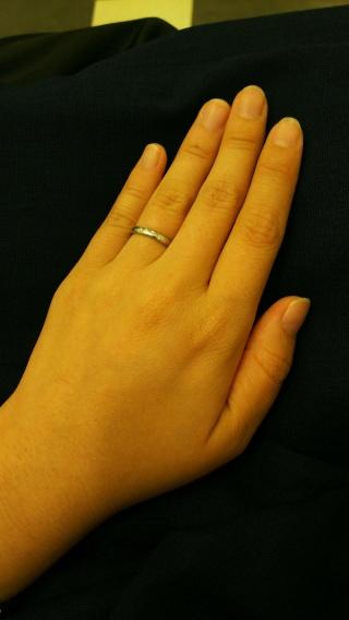 【ヴァン クリーフ&アーペル(Van Cleef & Arpels)の口コミ】 結婚指輪はVan Cleef & Arpelsがいいと決めてい…