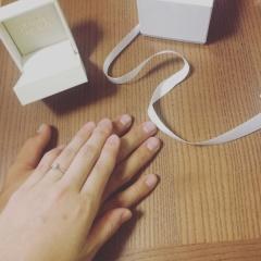 【PRIVATE BEACH(プライベートビーチ)の口コミ】 ハワイアンジュエリーが憧れで、数ある指輪の中から選びました。指輪の決め…