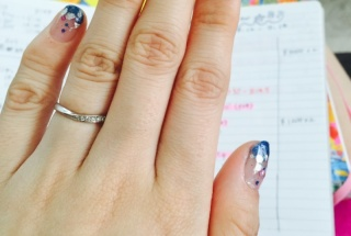【canal4℃(カナルヨンドシー)の口コミ】 細身でシンプルなタイプの指輪を探していたので、まさに一目惚れでした♡V…
