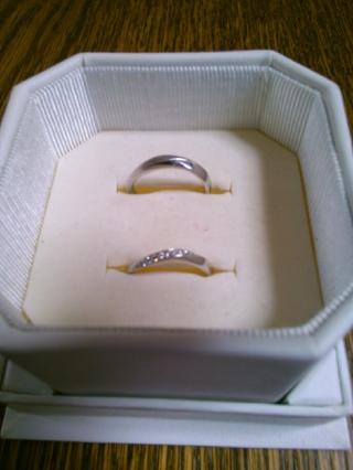 【4℃(ヨンドシー)の口コミ】 普段使いできるように、シンプルかつダイヤなど飾りのあるものを探していま…