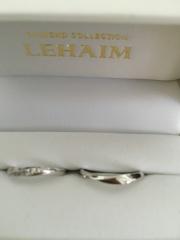 【LEHAIM(レハイム)の口コミ】 色々なデザインの物を試着させてもらいましたが一番手に馴染むデザインだっ…