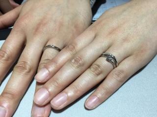 【JewelMIKI(ジュエルミキ)の口コミ】 夫婦で指輪探しのために何件もお店を回っており、その中のひとつがブランカ…