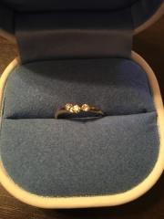 【銀座ダイヤモンドシライシの口コミ】 店員さんも感じがよく、お話しやすかったですし、価格の割にダイヤの輝き…