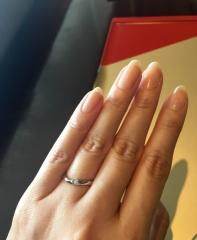 【TRECENTI(トレセンテ)の口コミ】 双子ダイヤと言う一つのダイヤを2つにして、それを夫婦の指輪に埋め込まれ…