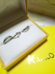 【ケイウノ ブライダル(K.UNO BRIDAL)の口コミ】 k、unoさんは世界に一つだけの指輪を作ることが出来ます。 デザインも…