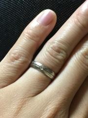 【CHRISTIAN BAUER(クリスチャンバウアー)の口コミ】 主人がクリスチャンバウアーが欲しいと言い様々な形の指輪を試着しましたが…