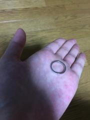 【Fred(フレッド)の口コミ】 ワンポイントなダイヤが付いているけれどシンプルなデザインがよく、ずっと…