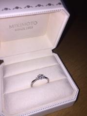 【MIKIMOTO(ミキモト)の口コミ】 色々なお店を見ていく中で婚約指輪のイメージが出来上がり、イメージ通りの…