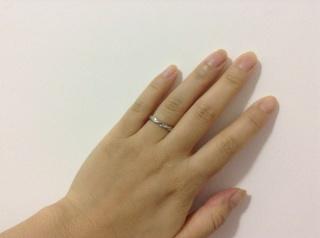 【Miss Platinumの口コミ】 ミスプラチナ の結婚指輪。通販で買えるものですが、渋谷のお店に行けば試…