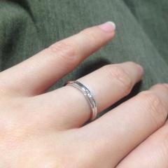 【銀座ダイヤモンドシライシの口コミ】 結婚式場の紹介で軽い気持ちで訪れましたが、担当の女性が一生懸命私達に…