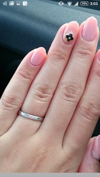 【ラザール ダイヤモンド(LAZARE DIAMOND)の口コミ】 ダイヤモンドが付いている指輪が良かった。値段からこちらを選んだ。細くも…