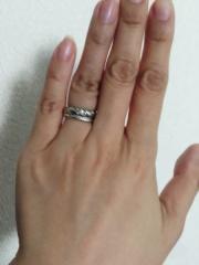 【ショーメ(CHAUMET)の口コミ】 いつもはさほどアクセサリーにこだわりのない主人が、結婚指輪を買うなら絶…