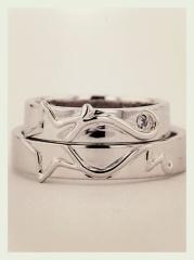 【JEWELRY  KAMATA(ジュエリーかまた)の口コミ】 世界で一つの指輪が欲しくてオーダーメイドで作れるお店を探していました…