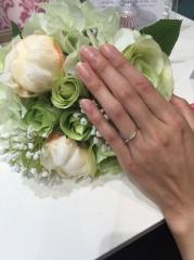 【A・D・A(エー・ディー・エー)の口コミ】 いろいろな指輪を見てきたが、デザインと価格が1番理想とマッチングしてい…