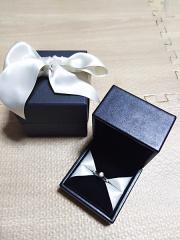 【銀座ダイヤモンドシライシの口コミ】 シンプルでいて、しかし細かなところにこだわりたかった。決め手は石の台…