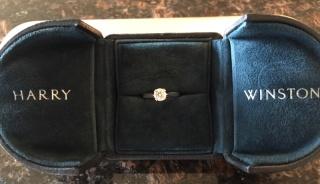 【ハリー・ウィンストン(Harry Winston)の口コミ】 女性なら誰もが憧れるHARRY WINSTONの指輪をつけるのが夢でした。 色々と…