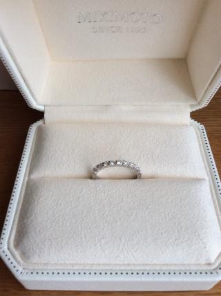【MIKIMOTO(ミキモト)の口コミ】 ダイヤモンドが付いていて、普段使いも出来る物を探していました。 エタニ…