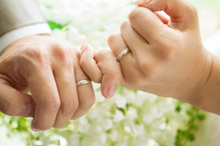 【CHRISTIAN BAUER(クリスチャンバウアー)の口コミ】 「結婚指輪はクリスチャンバウアーにしよう」と以前から夫と話していまし…