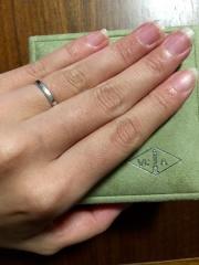【ヴァン クリーフ&アーペル(Van Cleef & Arpels)の口コミ】 指の太さがコンプレックスだった私は普段まったく指輪をつけませんでした。…