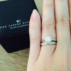 【ラザール ダイヤモンド(LAZARE DIAMOND)の口コミ】 インターネットのサイト上で、色々なブランドのデザインや価格等を比較して…