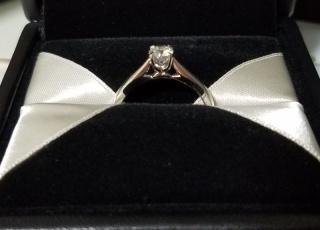 【エクセルコダイヤモンド(EXELCO DIAMOND)の口コミ】 私の雰囲気と合うデザインを、お店の方がおすすめしてくれました。ダイヤの…