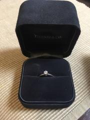 【ティファニー(Tiffany & Co.)の口コミ】 彼が買ってきてくれたもので、私に選択権はなかったのですが(笑)、彼曰く…