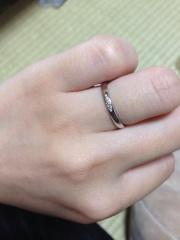 【アイプリモ(I-PRIMO)の口コミ】 一番の決め手はやはり自分の手に合うことです。今まで指輪を購入したことは…