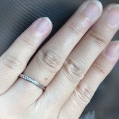 【COCKTAIL(カクテル)の口コミ】 シンプルなものが良かったのでデザインと価格で決めました。この指輪の意味…