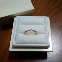 【LUCIE(ルシエ)の口コミ】 結婚指輪はエタニティリングが欲しくて、ずっといろんなお店を回って探して…